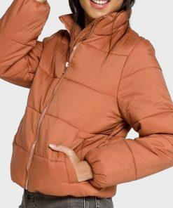 Gianna Mackey Chicago Fire Puffer Jacket