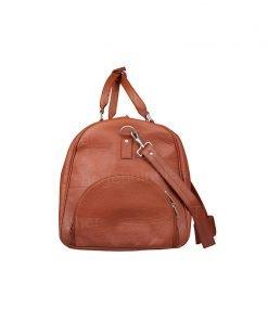 Handmade Leather Duffle Bag