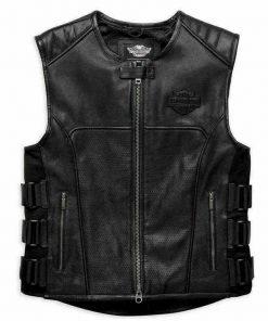Harley Davidson Leather Vest
