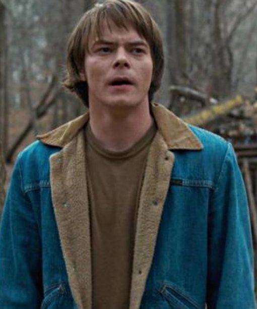 Jonathan Byers Stranger Things Blue Denim Jacket