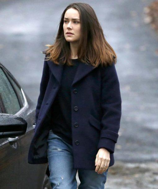 Megan Boone The Blacklist Blue Jacket