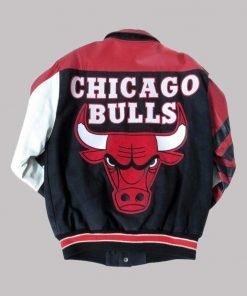 NBA Chicago Bulls Leather Jacket