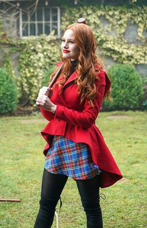 Riverdale Heathers Cheryl Blossom Red Wool Coat