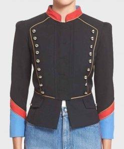 Riverdale Valerie Black Military Jacket