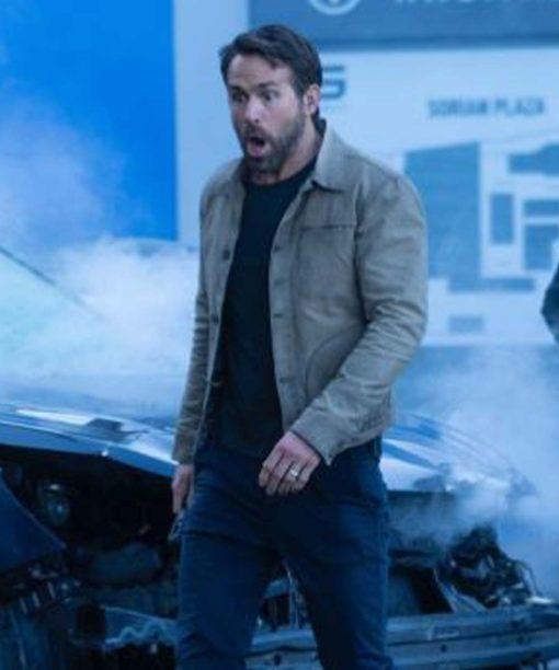 The Adam Project Ryan Reynolds Jacket
