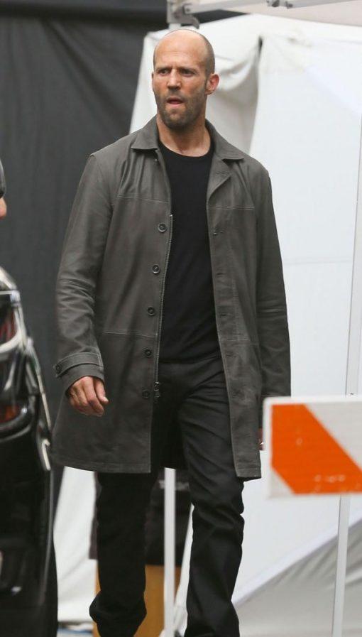 The Fate Of The Furious Jason Statham Coat