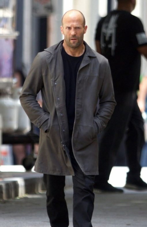 The Fate Of The Furious Jason Statham Grey Coat