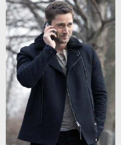 Tom Keen The Blacklist Suede Leather Jacket