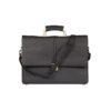 Venezia Briefcase Laptop Black Bag