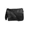 Vintage Black Crossbody Laptop Messenger Bag