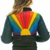 Women Rainbow Sunburst Jacket