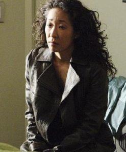 Grey's Anatomy Cristina Yang Brown Coat
