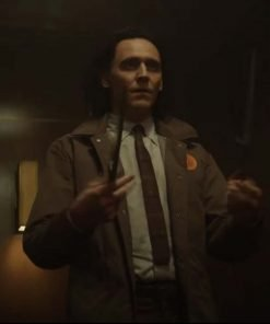 Loki Tom Hiddleston 2021 Brown Jacket