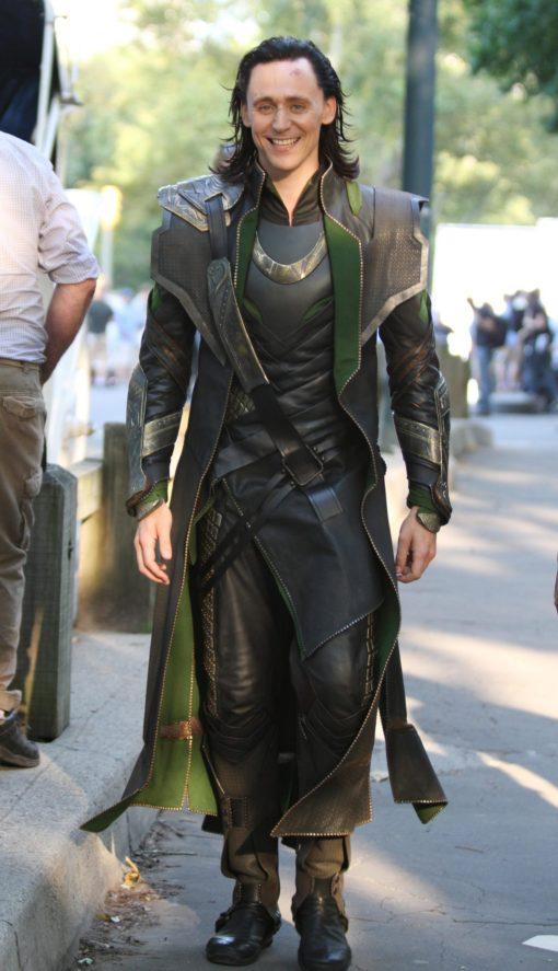 Loki Tom Hiddleston Trench Coat