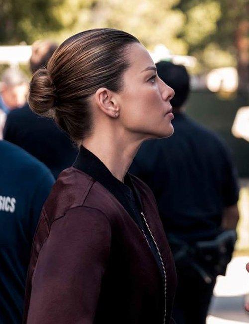 Lucifer S05 Lauren German Bomber Jacket