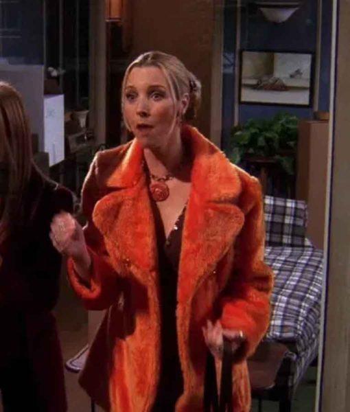 Phoebe Buffay FRIENDS Fur Coat