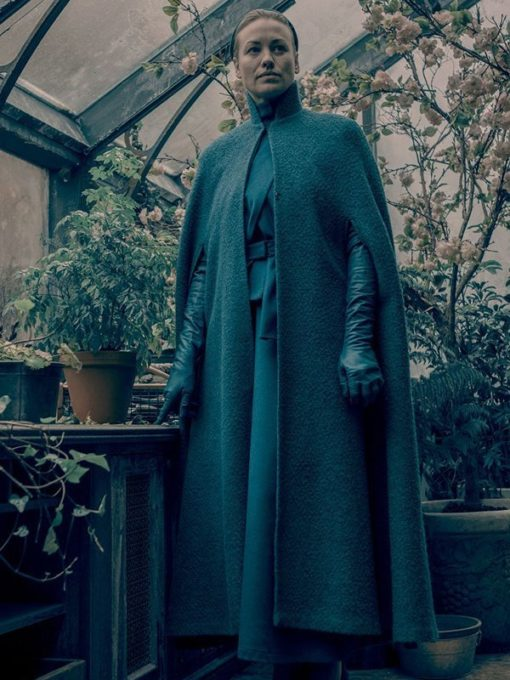 The Handmaid's Tale Serena Joy Waterford Green Coat