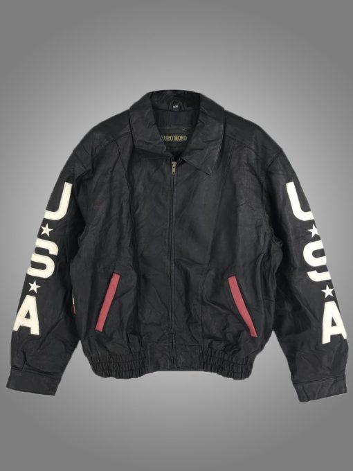 Vintage USA Leather Jacket