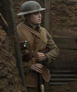 1917 Brown Leather Vest